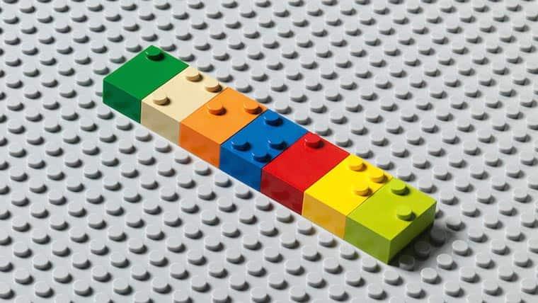 Braille Bricks, czyli jak klocki Lego uczą Braille