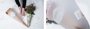 Opakowanie do kwiatów